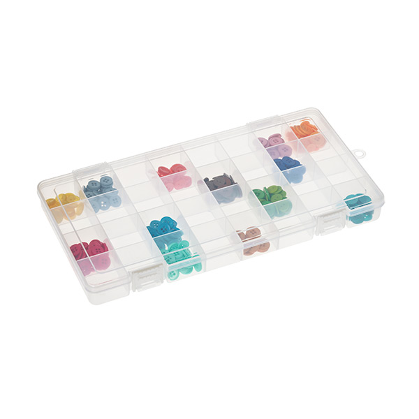 Large 32-Compartment Box Translucent