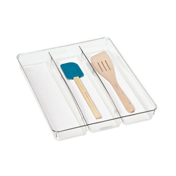 madesmart Utensil Tray Clear