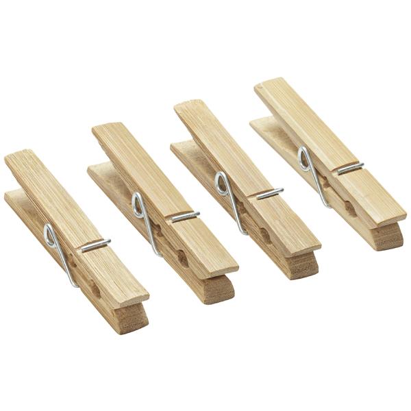 Bamboo Clothespins Pkg/36