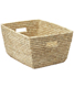 Date Leaf Rectangular Basket Natural