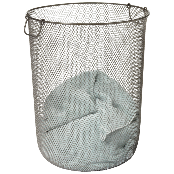 Industrial Mesh Hamper Clear Coat