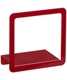 Umbra Simple Display Shelf Red