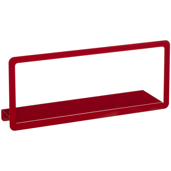 Umbra Simple Long Display Shelf Red