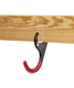 Lumb-R-Grip™ Hanger Hooks Black/Red Pkg/2