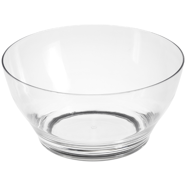 Tulia Acrylic Bowl Clear