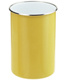 2 qt. Enamel Utensil Holder Yellow