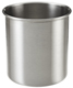 4 qt. Utensil Holder Brushed Stainless