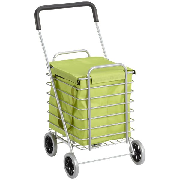 Aluminum Cart Nylon Liner Green