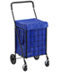Black Cart Nylon Liner Blue