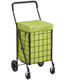 Black Cart Nylon Liner Green