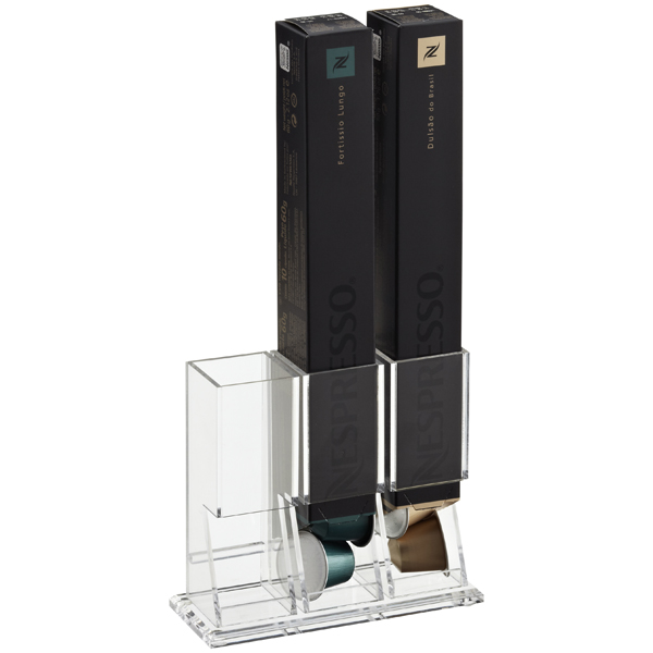 Acrylic Nespresso® Coffee Capsule Box Holder