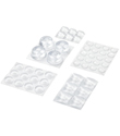 Assorted Clear Self-Stick Bumpers Value Pack
