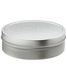 8 oz. Shallow Seamless Tin Silver