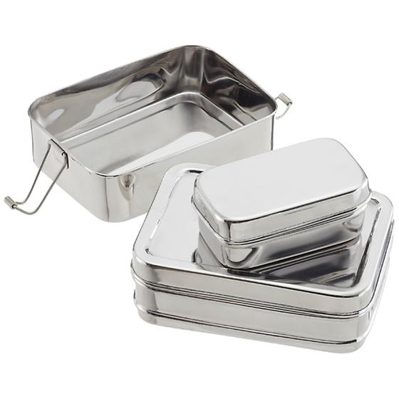 Stainless Steel 3-in-1 ECOlunchbox