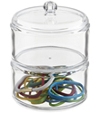 2-Section Acrylic Stacking Canister