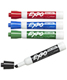 Chisel Tip Dry Erase Markers Classic Pkg/4