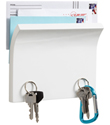 Piano White Magnetter Key & Letter Holder by Umbra&reg;