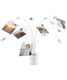 Umbra Petal Photo Display White