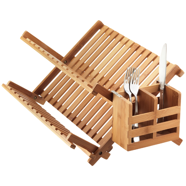 Bamboo Utensil Holder