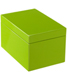 Large Lacquered Rectangular Box Green