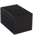 Large Lacquered Rectangular Box Black