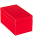 Medium Lacquered Rectangular Box Red