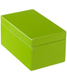 Medium Lacquered Rectangular Box Green