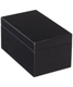 Medium Lacquered Rectangular Box Black