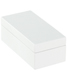 X-Small Lacquered Rectangular Box White