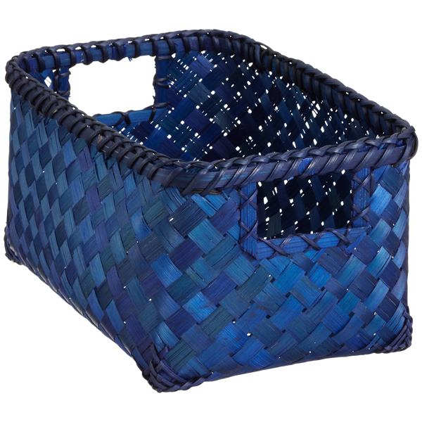 Small Weave Bin Indigo