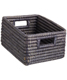 Rectangular Sea Grass Bin Slate