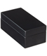 X-Small Lacquered Rectangular Box Black
