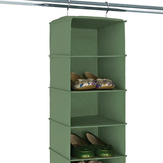 Verde 10-Compartment Hanging Shoe Bag