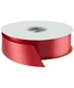 Flora Satin Ribbon Imperial Red