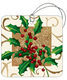 Tags Holly & Ivy Pkg/5