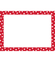 Red Small Dot Adhesive Gift Labels