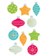 Sticker Sheets Ornaments Pkg/2