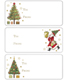 Gift Labels Handsome Santa Pkg/36
