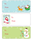 Gift Labels Oh What Fun Pkg/36