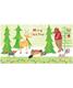 Money Card Woodland Animals Pkg/6