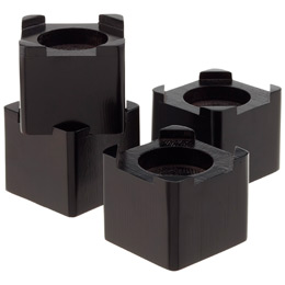 The Container Store RICHARDS HOMEWARES, INC. Espresso Bed Risers