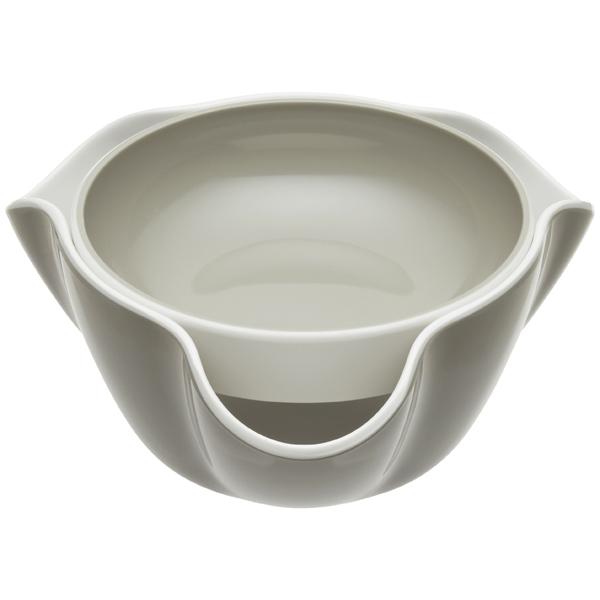 Joseph Joseph Double Dish White/Stone