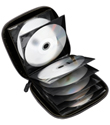 24-CD/DVD Wallet