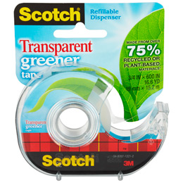 Scotch Transparent Greener Tape