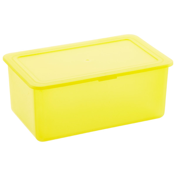 Stackable Storage Box Yellow