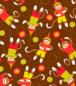 Monkey Business Gift Wrap