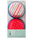 Stripes & Dots Cupcake Liners