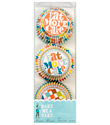 Eat More Cake Mini Cupcake Liners