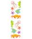 Sticker Sheets Sea Life Pkg/3