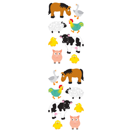 Farm Animal Stickers The Container Store